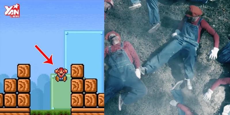"""Choáng với phim ngắn """"Điều gì xảy ra sau khi Mario chết"""""""