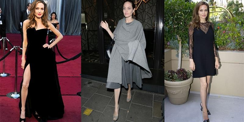 Angelina Jolie chỉ còn nặng 35kg giữa lùm xùm ly hôn