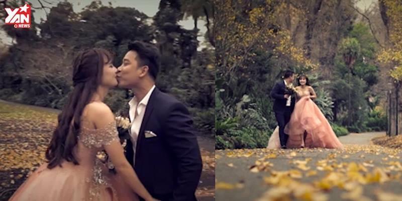 Lê Hoàng bất ngờ cầu hôn Việt Huê ở Úc sau 5 năm yêu nhau