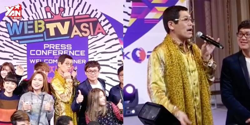 """""""Thánh"""" PPAP """"gây náo loạn"""" Web TV Asia"""