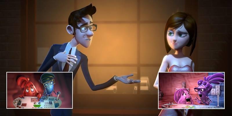 Bộ phim hoạt hình đấu tranh nội tâm khiến người xem cực kì thích thú
