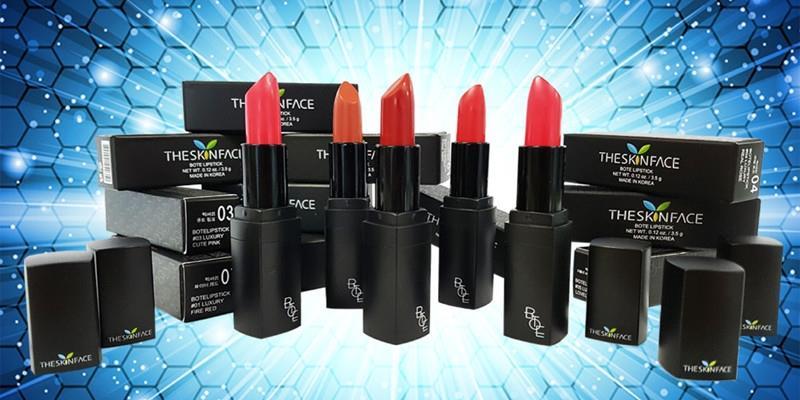 Cực hot với son The skin face bote lipstick lành tính không hại môi