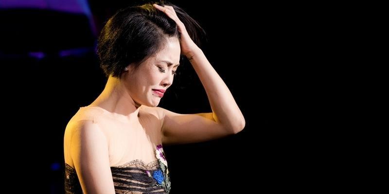 yan.vn - tin sao, ngôi sao - Điều gì khiến Thu Phương bật khóc nức nở tại sân khấu đêm nhạc Hà Nội?