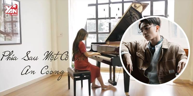 """""""Phía sau một cô gái"""" phiên bản piano da diết đến nao lòng"""