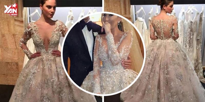 Hàng triệu cô gái đã ngất ngây vì những bộ váy cưới lộng lẫy này