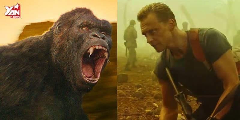 """King Kong mới toanh trong bom tấn """"Kong: Skull Island"""" lộ diện"""