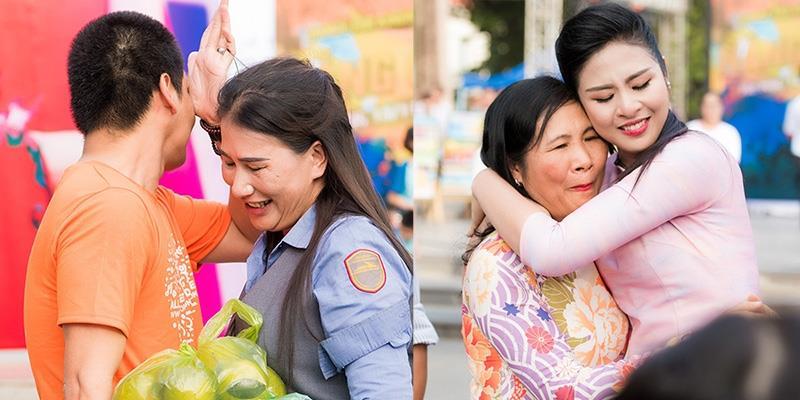 yan.vn - tin sao, ngôi sao - Hoa hậu Ngọc Hân, MC Phan Anh rơi nước mắt vì được tặng quà bất ngờ