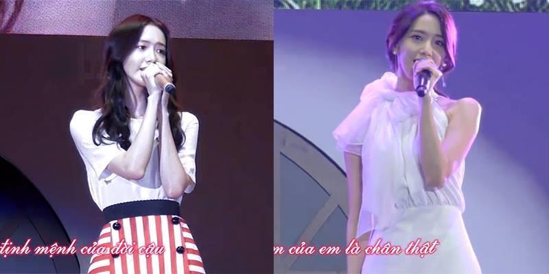 """Yoona chứng tỏ khả năng ca hát """"không phải dạng vừa"""" của mình"""