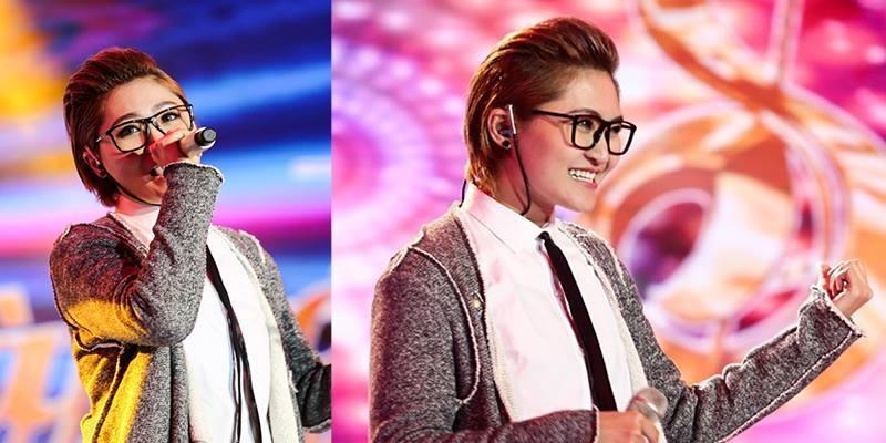 """Vicky Nhung """"bùng nổ"""" với ca khúc tự sáng tác """"Happy birthday xoay xoay"""""""