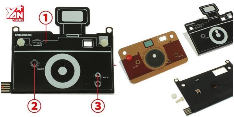 Lạ mắt với máy ảnh bằng giấy nhưng vẫn có thể chụp ảnh