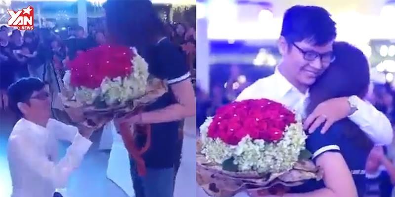 Chàng trai đóng vai Sơn Tùng để cầu hôn và cái kết đầy bất ngờ
