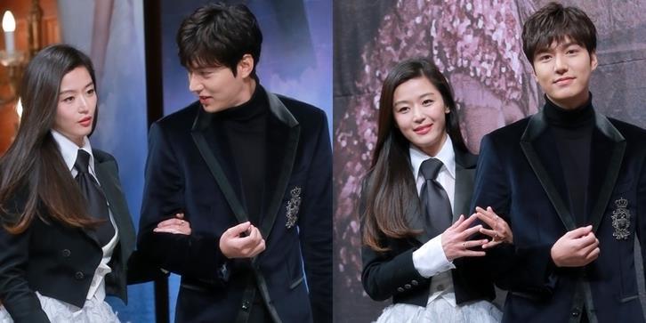 yan.vn - tin sao, ngôi sao - Lee Min Ho và Jun Ji Hyun lộng lẫy tay trong tay ra mắt siêu phẩm mới