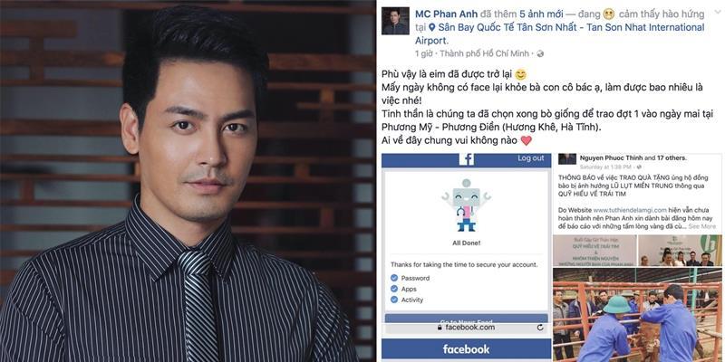 yan.vn - tin sao, ngôi sao - Vừa lấy lại Facebook, Phan Anh đối diện