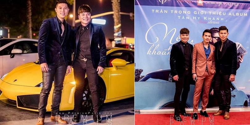 yan.vn - tin sao, ngôi sao - Ca sĩ Tân Hy Khánh lái siêu xe Ferrari đi họp báo ra mắt album