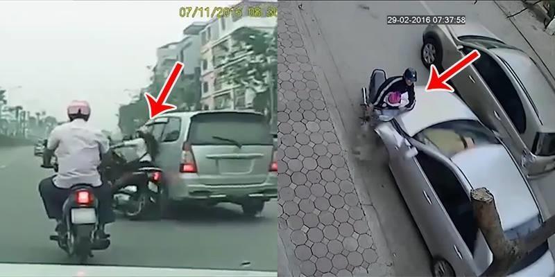 Những đoạn clip tai nạn giao thông gây sốc nhất gần đây