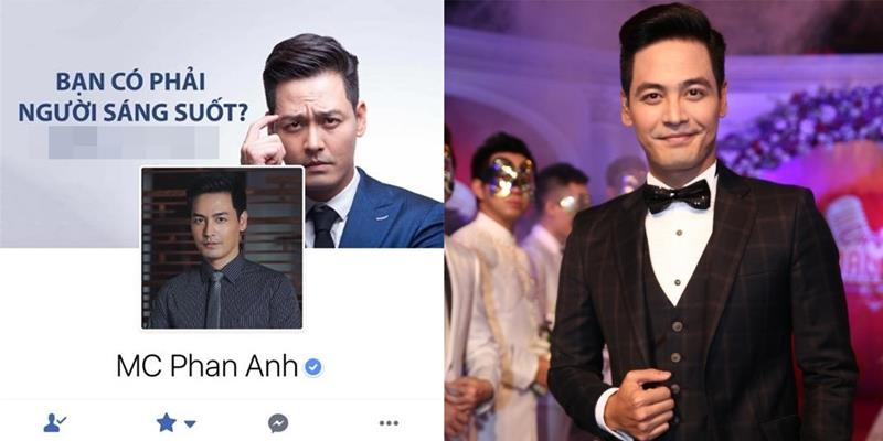 yan.vn - tin sao, ngôi sao - Hé lộ lí do khiến trang cá nhân MC Phan Anh đột ngột