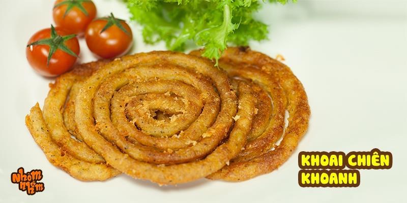 [Nhòm Nhèm] Học ngay cách làm khoai tây chiên phô mai giòn giòn béo béo