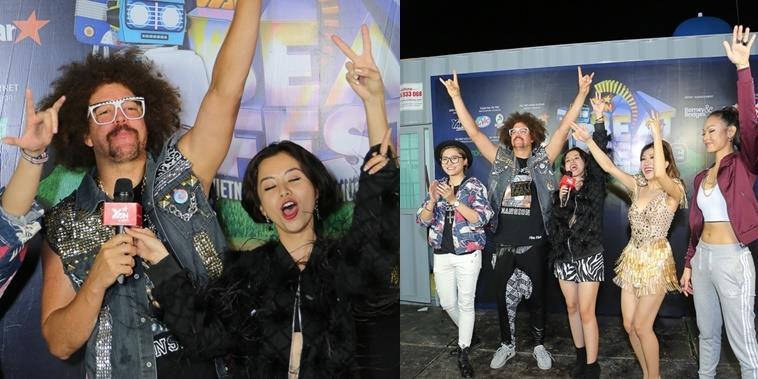 """yan.vn - tin sao, ngôi sao - Redfoo cực """"nhắng nhít"""" trong hậu trường YAN Beatfest 2016"""