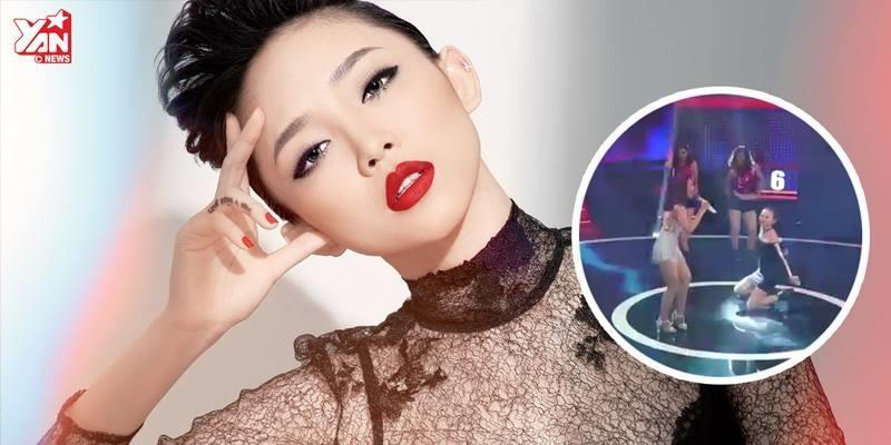 Cô gái có giọng hát khiến Tóc Tiên giật mình và ngã sấp mặt trên sân khấu