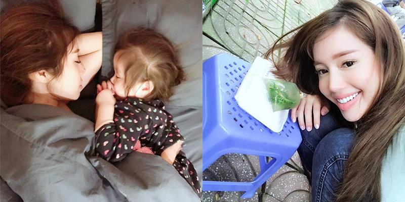 Bình yên trước khoảnh khắc Cadie nằm gọn trong tay Elly vào sáng sớm