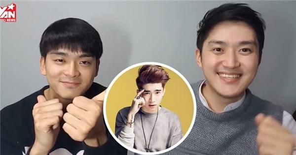 Trai Hàn cover 'Điều anh biết' phiên bản rap tiếng Hàn cực hay