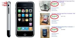 Bạn sẽ giàu to nếu vẫn còn đang sở hữu iPhone 2G 'cổ lỗ sĩ'