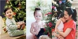 """yan.vn - tin sao, ngôi sao - """"Tan chảy"""" trước hình ảnh đáng yêu của nhóc tì Sao Việt đón Giáng sinh"""