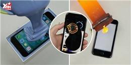 Choáng với thanh niên chuyên tra tấn iPhone 7