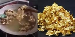 Xôn xao clip nấu vàng ăn tạm gây tranh cãi trong cộng đồng mạng