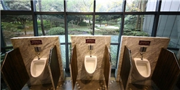 Choáng với nhà vệ sinh công cộng 5 sao tại Trung Quốc