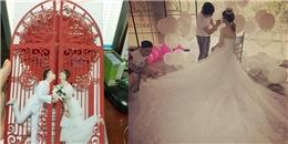 yan.vn - tin sao, ngôi sao - Xuýt xoa với tấm thiệp cưới có 1 không 2 của Trấn Thành - Hari Won