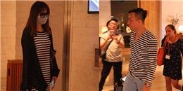 yan.vn - tin sao, ngôi sao - Hari Won che kín mặt, Trấn Thành bận rộn điện thoại trước giờ G