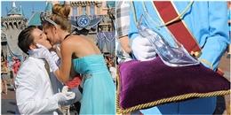 Hóa hoàng tử, chàng trai trẻ cầu hôn người yêu bằng giày thủy tinh
