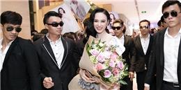 Angela Phương Trinh sang chảnhthuê dàn vệ sĩ tháp tùng ra mắt phim