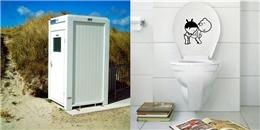 'Phát điên' với những trò đùa 'siêu lầy' trong toilet