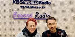 Thầy trò OnlyC và Lou Hoàng tự hào vì được đài KBS mời phỏng vấn