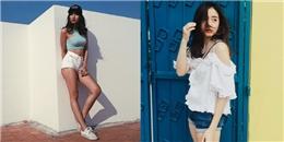 Các hot girl mặc thế nào để vừa 'chất' vừa 'sexy' cuốn hút