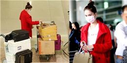 yan.vn - tin sao, ngôi sao - Ngọc Trinh bị rạch hành lý tại sân bay khi vừa trở về từ Mỹ