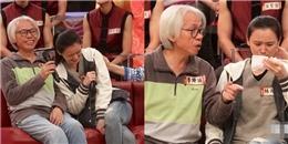 Cặp đôi ông cháu vui buồn lẫn lộn chia sẻ trên sóng truyền hình