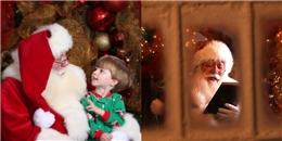 Cậu bé 5 tuổi trút hơi thở cuối cùng trong vòng tay Ông già Noel