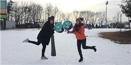 Những trải nghiệm về mùa đông Hàn Quốc của Diệp Lâm Anh và Phụng Yến