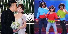 yan.vn - tin sao, ngôi sao - Vì sao Trường Giang - Việt Hương vắng mặt trong lễ cưới Trấn Thành?