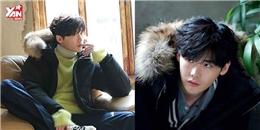 Lee Jong Suk xua tan cái lạnh mùa đông với bộ ảnh đẹp không góc chết