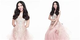 Diệu Ngọc ngọt ngào với sắc hồng trong đêm chung kết Miss World 2016
