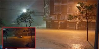 Nha Trang biến thành sông chỉ trong một cơn mưa lũ kinh hoàng
