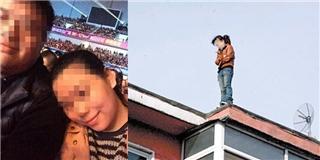 Phẫn nộ cảnh chồng bỏ mặc vợ nhảy từ tầng 28 để vui vẻ bên bạn gái