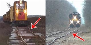 Những con đường tàu hỏa  bềnh bồng  không phải ai cũng dám thử