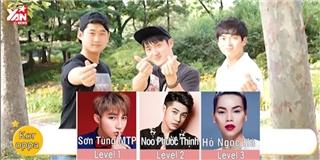 Người Hàn thử phát âm tròn vành rõ chữ tên các nghệ sĩ Việt Nam