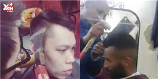 Hú vía với 2 kiểu cắt tóc không dành cho trai đẹp yếu tim