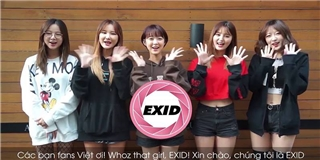 """EXID khiến fan Việt ngây ngất với lời tỏ tình """"Tôi yêu các bạn"""""""